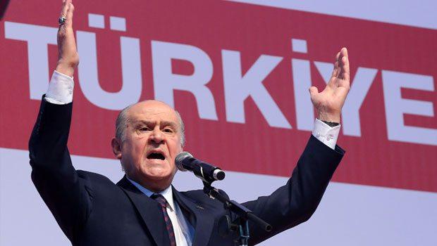 Bahçeli: AKP 2023 vizyonumuzu çaldı!