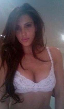 Kardashian'dan çıplak iyi geceler pozu