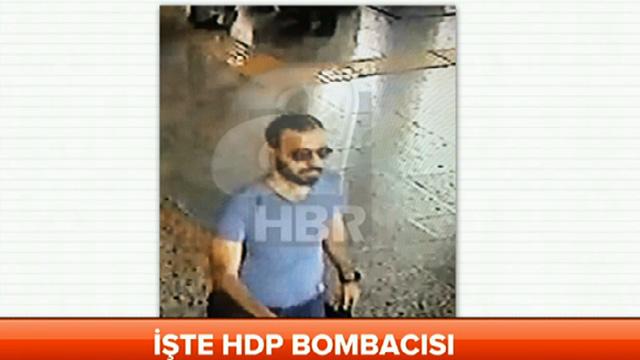 HDP bombacısının görüntüleri ortaya çıktı!