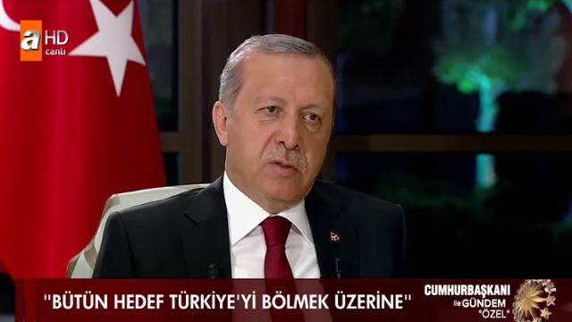 Erdoğan: Aydın Doğan senin maaşlı şarlatanların..
