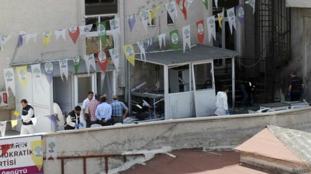 DHKP-C: HDP'ye yapılan saldırıları AKP örgütledi