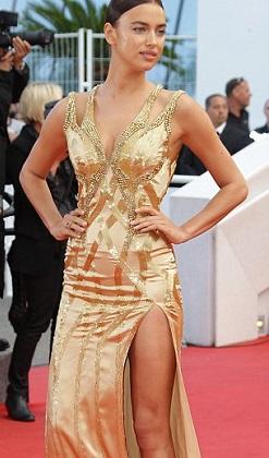 Irina Shayk Cannes'ı kasıp kavurdu