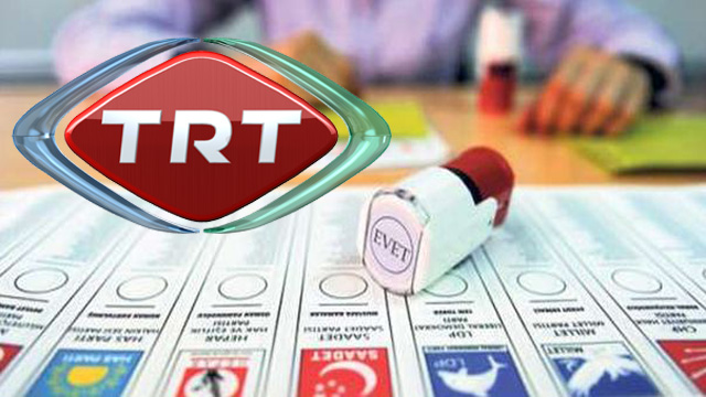 TRT'nin propaganda yayını sıralaması belli oldu!