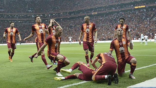 Galatasaray 2-0 Beşiktaş! Dördüncü yıldız geliyor