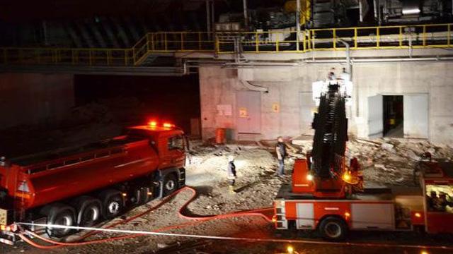 Çimento fabrikasında patlama: 3 ölü!