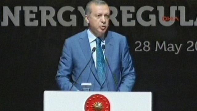 Erdoğan: Kusura bakmayın benim işim var