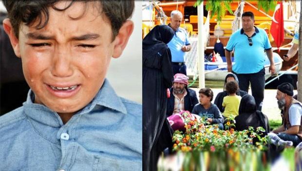 Turist mevsimi dediler Suriyelileri kovdular