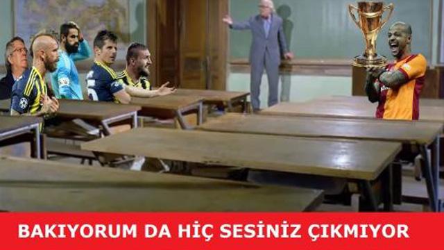 Galatasaray şampiyon oldu, Capsler coştu