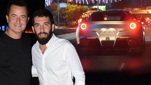 Acun, Arda'ya Ferrarisini verdi