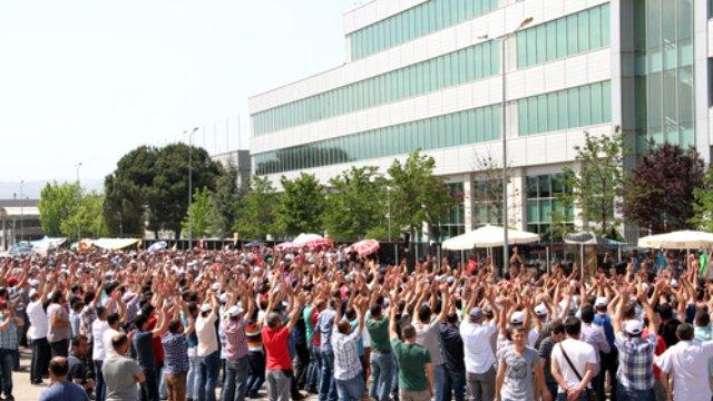 Renault'da işçilerin eylemi sona erdi!