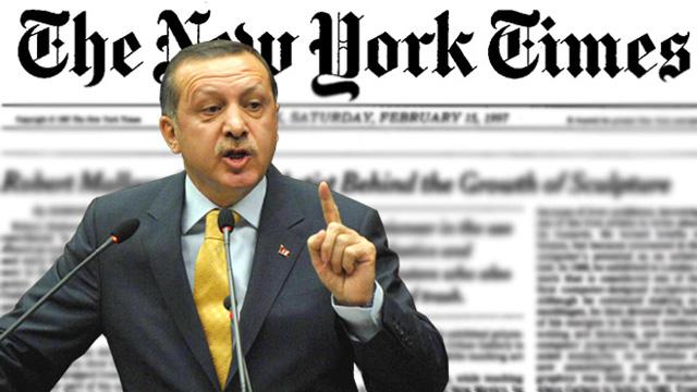 Erdoğan'dan NYT tepkisi: Ücretli şarlatanlar..