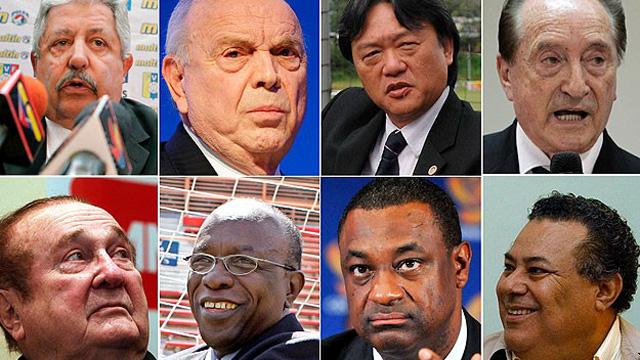 İşte FIFA'da rüşvetle suçlanan yöneticiler