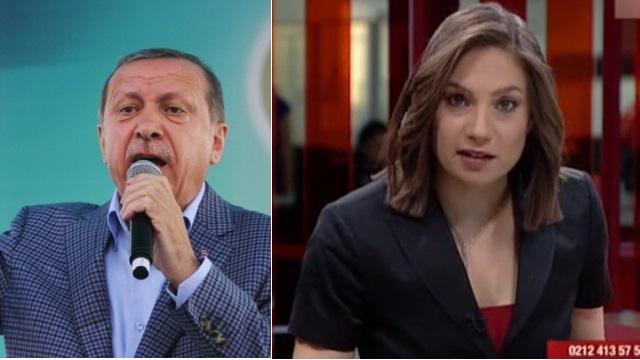 Erdoğan'dan Nevşin Mengü'nün sözlerine sert tepki