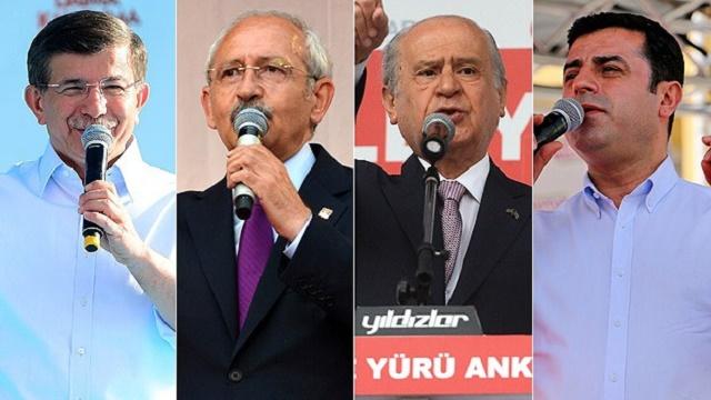 Liderlerin miting karnesi! Kim kaç miting yaptı?