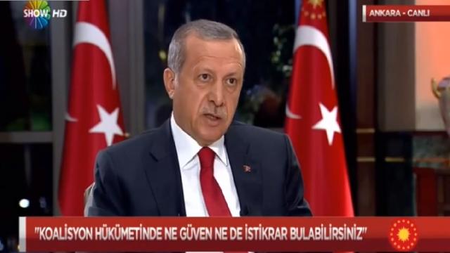 Erdoğan'dan koalisyon çıkışı! MHP ve HDP..