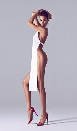 En doğal güzel Irina Shayk