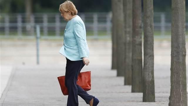 Hayır kararını duyan Merkel'in bittiği an!