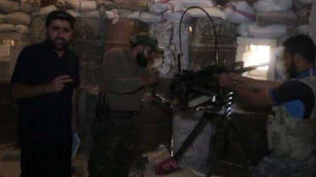 TRT ekibi, Halep'te keskin nişancının hedefi oldu