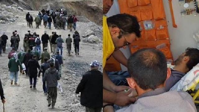 HDP'li vekil ve gazetecilere askerler ateş açtı