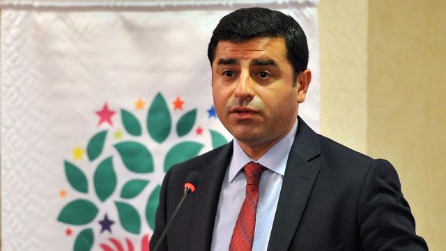 Demirtaş: AKP koalisyon istiyor, Erdoğan erken seçim