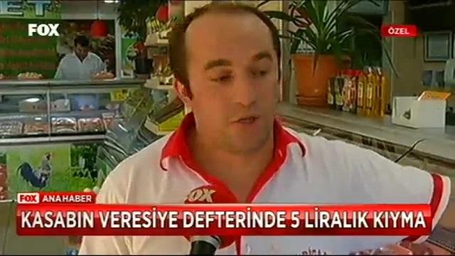 5 liralık kıyma veresiye defterinde... İşte Türkiye gerçeği!