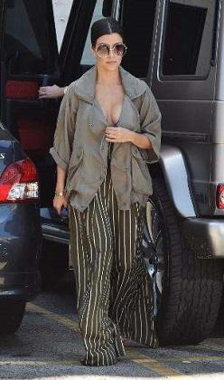 Kourtney Kardashian'a ayrılık yaramadı