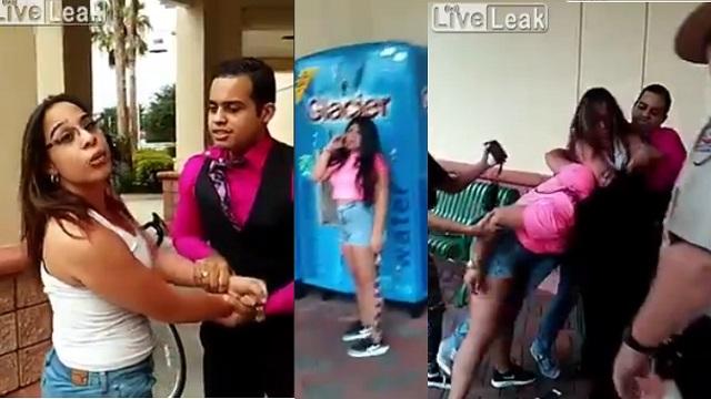 Kocasını genç kızla yakalayan kadının öfkesi