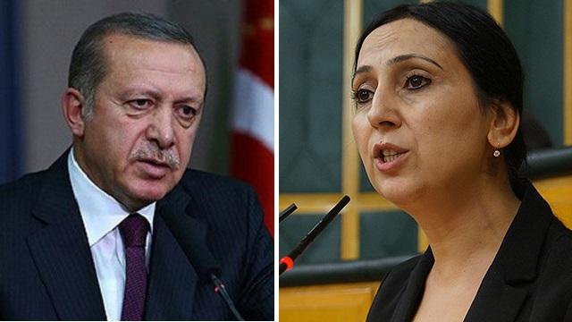 Erdoğan o sözlerle Figen Yüksekdağ'ı mı kastetti ?