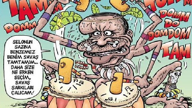 LeMan'dan Erdoğan'ı kızdıracak karikatür