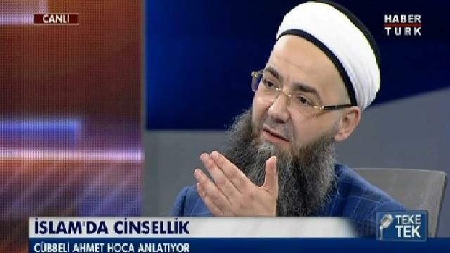 Cübbeli Ahmet Hoca'dan ileri derece oral seks cevabı!
