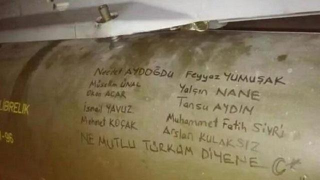 TSK'dan PKK'ya şehit imzalı füze!