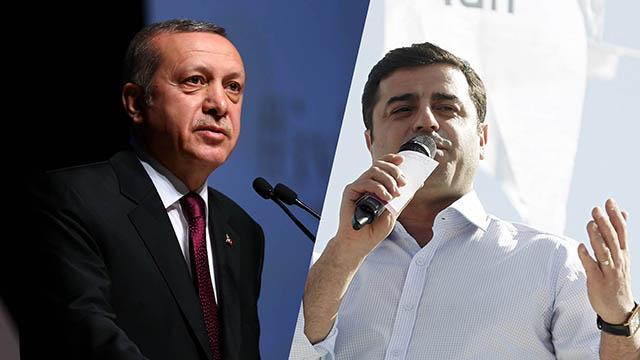 Erdoğan: Demirtaş fırsat bulsa abisinin yanına koşar