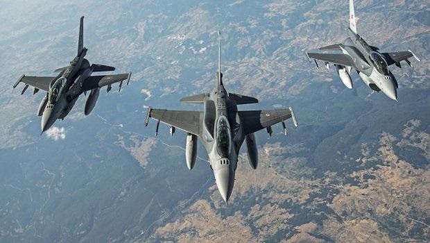 30 savaş uçağı ile dev operasyon! Bomba yağıyor