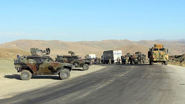 O bölgeler Geçici Askeri Güvenlik Bölgesi ilan edildi!