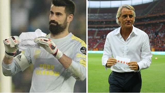 Mancini'den Fenerbahçe'ye dört yıldızlı gönderme