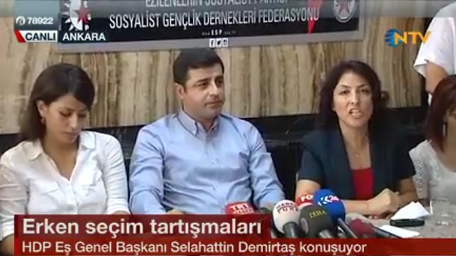 Demirtaş'tan Bahçeli'ye: Sarayda sefa süren mi şerefli?