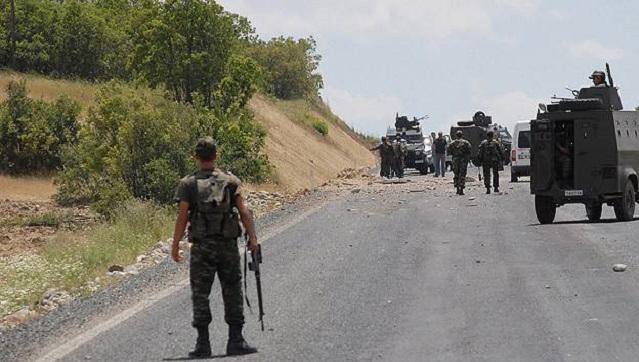 Bingöl'de askeri araca mayınlı saldırı!