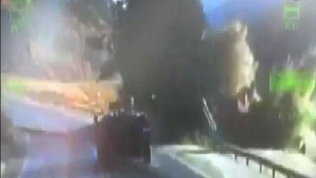 PKK'nın mayınlı saldırısı kameralarda!