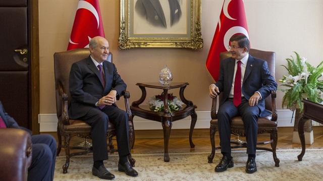 MHP: AKP ile görüşme koalisyon için değil
