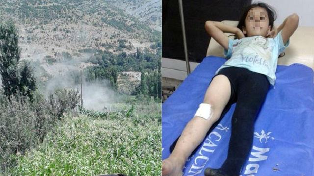 Pervin Buldan'ın akrabası 6 yaşındaki kız saldırıda yaralandı!
