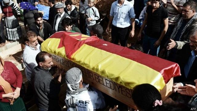 13 YPG'linin cenazesine izin çıktı!