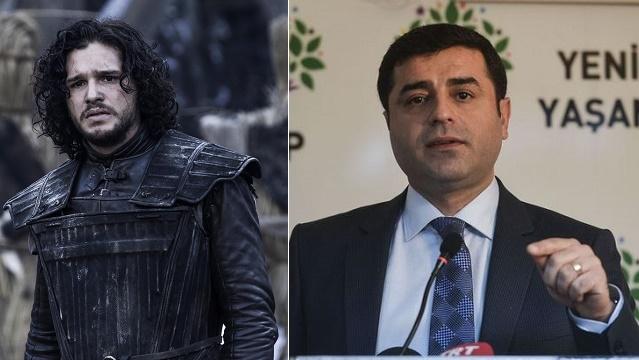 FT: Gençler Demirtaş'ı Jon Snow'a benzetiyor