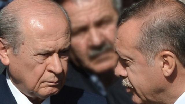 Erdoğan, Bahçeli'nin o sözlerine çok kızdı!