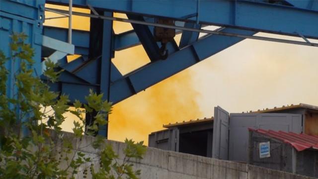 Tuzla'da fabrikada kimyasal sızıntı paniği!