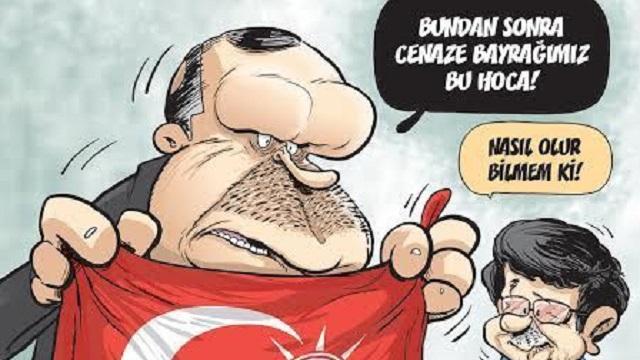 Gırgır'dan Erdoğan'lı olay kapak!