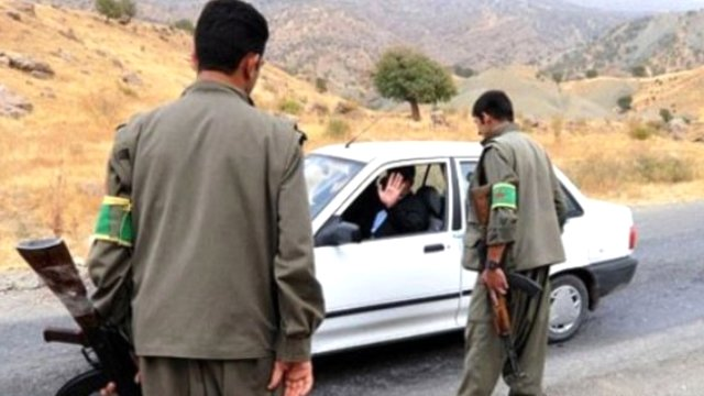 Patlak lastikle PKK'dan  kurtuldu