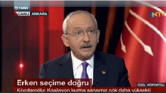 Kılıçdaroğlu: Görev verilseydi hükümeti kurardım!