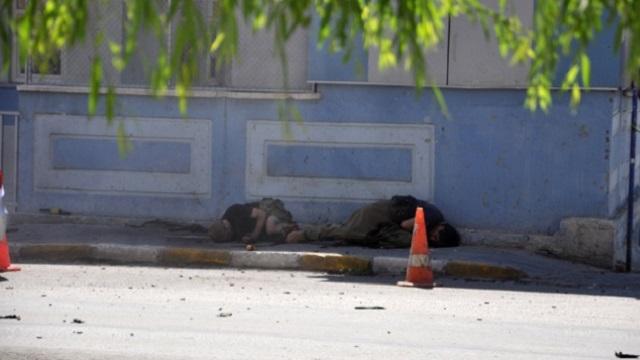 Tunceli'de  karakola saldırı...1 polis şehit