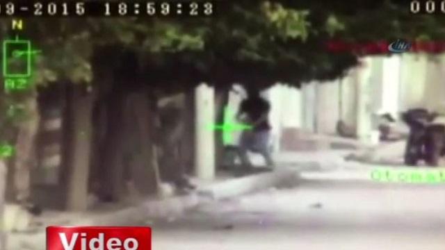 Nusaybin'de pusu kuran PKK'li işte böyle vuruldu!