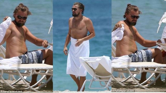 Di Caprio, kilolarıyla şaşırttı